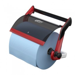 Tork Performance настенный диспенсер для протирочных материалов в рулоне W1 красный 652108