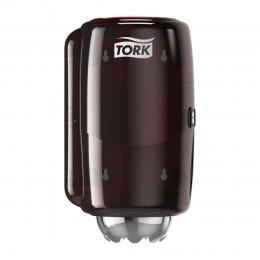 Tork Performance диспенсер мини для полотенец с центральной вытяжкой (ЦВ) М1 красный 658008