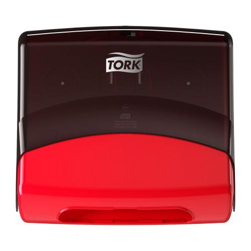 Tork Performance диспенсер для протирочных материалов в салфетках красный W4 654008