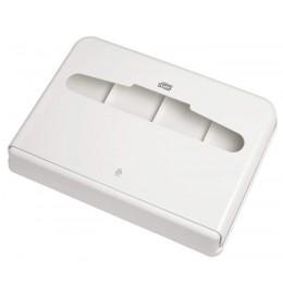 Tork диспенсер для индивидуальных бумажных покрытий на унитаз V1 белый 344080