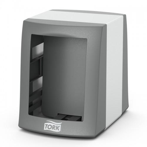 Tork Fastfold диспенсер для салфеток настольный N2 серый 271800