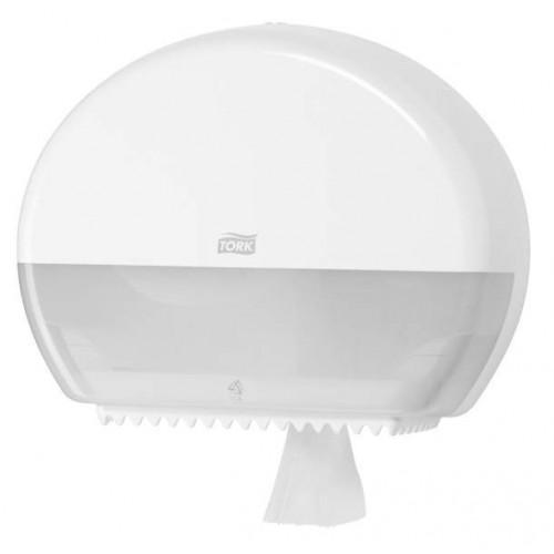 Tork Elevation Диспенсер для туалетной бумаги в мини-рулонах T2 белый 555000