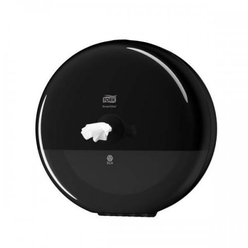Tork SmartOne® диспенсер для туалетной бумаги в рулонах с центральной вытяжкой Система T8 черый 680008