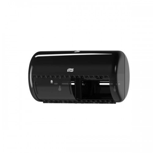 Tork Elevation Диспенсер для туалетной бумаги в стандартных рулонах Система Т4 черный 557008