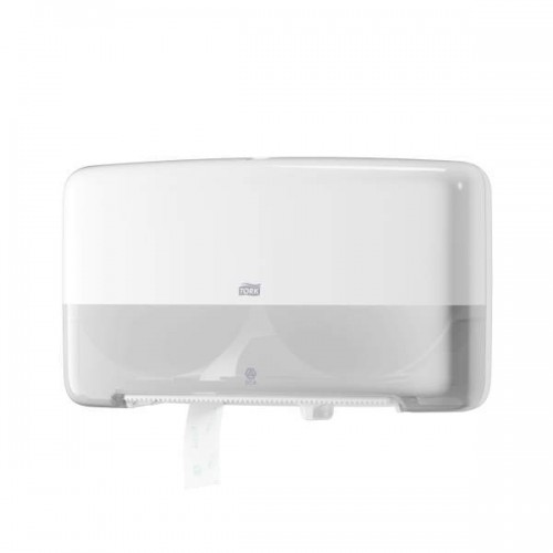 Tork Elevation Двойной диспенсер для туалетной бумаги в мини-рулонах Система T2 белый 555500