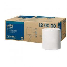 Полотенца бумажные в рулонах с центральной вытяжкой Tork Reflex 120000 М4 1-слойные 6 рулонов по 270 метров