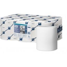 Протирочная бумага рулонная Tork Reflex 473412 1-слойная 16 рулонов по 113,9 м