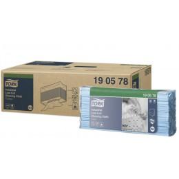Нетканый протирочный материал экстра-безворсовый листовой  для автомоек Tork 190578 1-слойный 5 пачек по 80 л