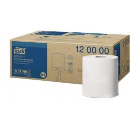 Протирочная бумага рулонная Tork Reflex 120000 2-слойная 6 рулонов по 270 м