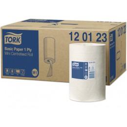 Протирочная бумага рулонная Tork 120123 1-слойная 11 рулонов по 120 м