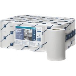 Протирочная бумага рулонная Tork Reflex 473246 1-слойная 12 рулонов по 120 м