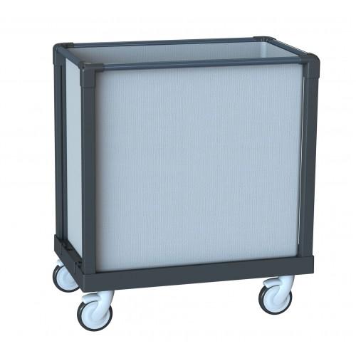 Сервисная тележка-держатель для белья объем 300 л