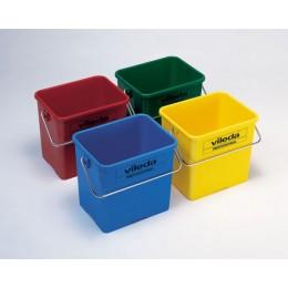 Ведро для уборки Vileda Professional из полипропилена, 6 л. 500430, 500433, 500432, 500431