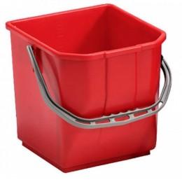Ведро для уборки TTS Moplen, красное, 25 л. 000R3500