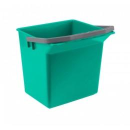 Ведро для уборки TTS зеленое, 6 л. 00003508