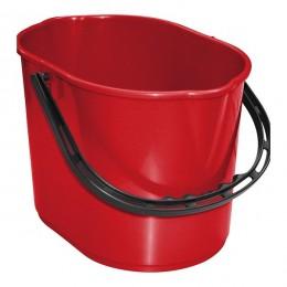 Ведро для уборки TTS PIT, красное, 12 л. 00005275
