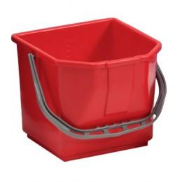 Ведро для уборки TTS Moplen, красное, 15 л. 000R3501