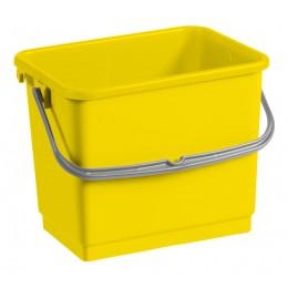 Ведро для уборки TTS желтое, 4 л. 00003360