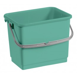 Ведро для уборки TTS зеленое, 4 л. 00003363