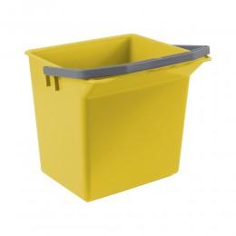 Ведро для уборки TTS желтое, 6 л. 00003506