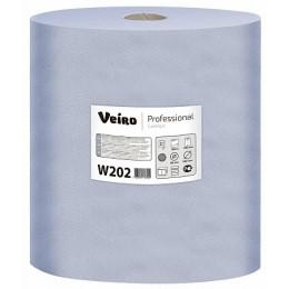 Протирочная бумага рулонная Veiro Professional Comfort W202 2-слойная 2 рулона по 350 м