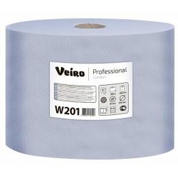 Протирочная бумага рулонная Veiro Professional Comfort W201 2-слойная 2 рулона по 350 м