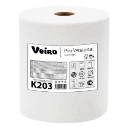 Бумажные полотенца в рулонах Veiro Professional Comfort К203 H1 6 рулонов по 150 м