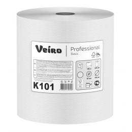 Бумажные полотенца в рулонах Veiro Professional Basic К101 H1 6 рулонов по 180 м