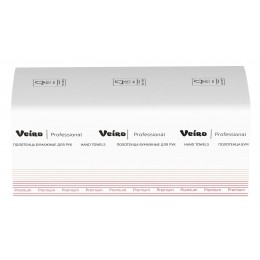 Бумажные полотенца листовые  Veiro Professional Premium KV313 H3 20 пачек по 250 листов