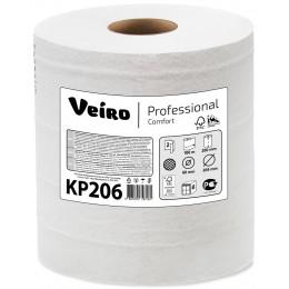 Бумажные полотенца в рулонах с центральной вытяжкой Veiro Professional Comfort КР206 M2 6 рулонов по 180 м