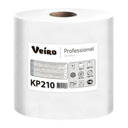 Бумажные полотенца в рулонах с центральной вытяжкой Veiro Professional Comfort KP210 C2-M2 6 рулонов по 200 м