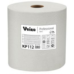 Бумажные полотенца в рулонах Veiro Professional Basic КР112 6 рулонов  по 172 м