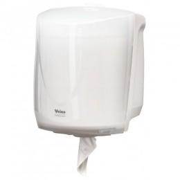 Диспенсер с центральной вытяжкой для бумажных полотенец Пластик ABS Veiro Professional EASYROLL Белый