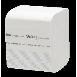 Туалетная бумага листовая Veiro Professional Comfort TV201 L1 30  пачек в упаковке по 250 листов