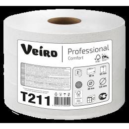 Туалетная бумага в рулонах Veiro Professional Comfort ТР210 Q2 12 рулонов по 80 м