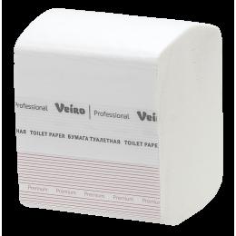 Туалетная бумага листовая Veiro Professional Premium TV302 L1 30  пачек в упаковке по 250 листов