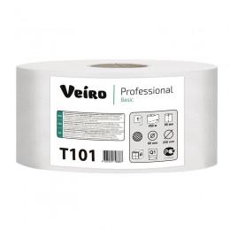 Туалетная бумага в рулонах Veiro Professional Basic Т101 Q1 6 рулонов по 450 м