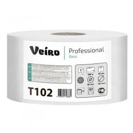 Туалетная бумага в рулонах Veiro Professional Basic Т102 Q2 12 рулонов по 200 м