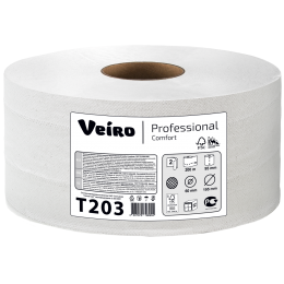 Туалетная бумага в рулонах Veiro Professional Comfort Т203 Q2 12 рулонов по 200 м