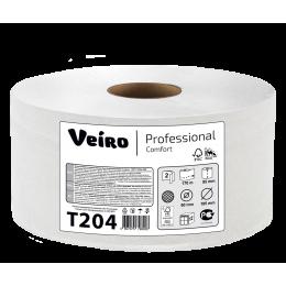 Туалетная бумага в рулонах Veiro Professional Comfort Т204 Q2 12 рулонов по 170 м